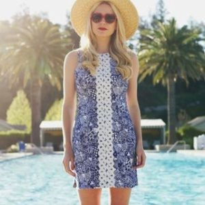 Lilly Pulitzer FT | shift fish dress • 12